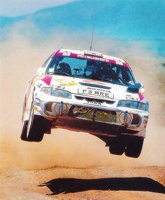 Mitsubishi Lancer Evolution Rallyeauto Safari Rallye Kenia