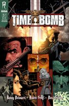 """""""Time Bomb is the third title from comic book publisher Radical in Spain, a work that follows the premises of the previous two... and the truth is that after the good taste of Hotwire and FVZA, Time Bomb does not disappoint."""" Vic at Via.News.es reviews Time Bomb. #TimeBomb #Radical #Comics"""