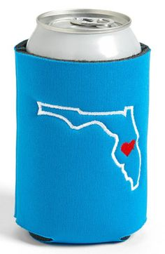 Stitched Cards State Koozie