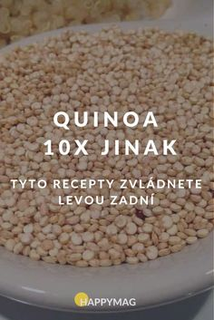 Quinoa je skvělá zdravá superpotravina, která je plná vitamínů a kvalitních bílkovin. Podívejte se na 10 jednoduchých receptů. #quinoa #recept #jidlo Gluten Free Recipes, Healthy Recipes, Good Food, Yummy Food, Healthy Baking, Quinoa, Food Inspiration, Sweet Recipes, Food And Drink