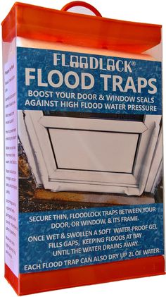 This lightweight innovative water activated seal is easy to trap between a door & it's frame, activated in minutes and is an outstanding way for all to start protecting their property against flood damage, whether from rain, river or sea. Visit www.allupsltd.co.uk to watch a video & buy.