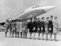 Concorde cabin crew