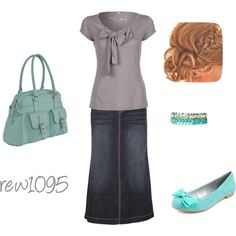 Teal, created by rew1095 on Polyvore