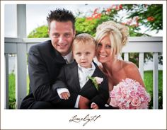 Davis Island Garden Club, Limelight Photography, Wedding Photography, Bride and Groom and son, http://www.stepintothelimelight.com