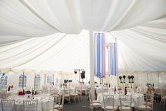 Marquee wedding in Hampshire