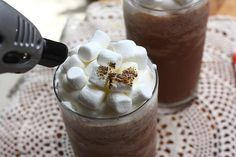 Frozen Hot Chocolate - yes, please.