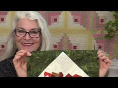 A No Math Way to Add a Corner Triangles to a Quilt Block- SewVeryEasy with Laura-YouTube-7:53min Corner Triangles are a great way to turn any block into a larger block all while turning it on an angle. Lets make rulers do all the work, with no math. This method will work with any size square you have.
