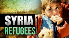 This picture uses a heavy pathos by showing a little girl with sad eyes and 'syria refugees' in bold letters. JD