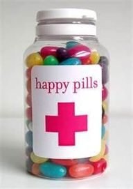 nursing school graduation party ideas - Google Search. You could put jellybeans, smarties, and basically any other candy that looks like a pill in the jar!