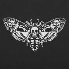 Death's Head Moth T-Shirt by 6 Dollar Shirts. Thousands of designs available for…