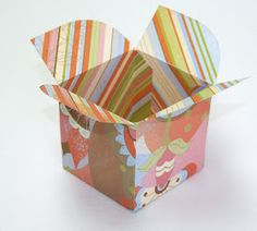 your day of fairy tales: DIY Cupcake Boxes