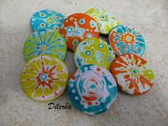 from polymer clay-suns sandedP1080964