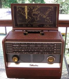 Vintage Silvertone Model 5227 Portable Short Wave Radio Good Condition | eBay
