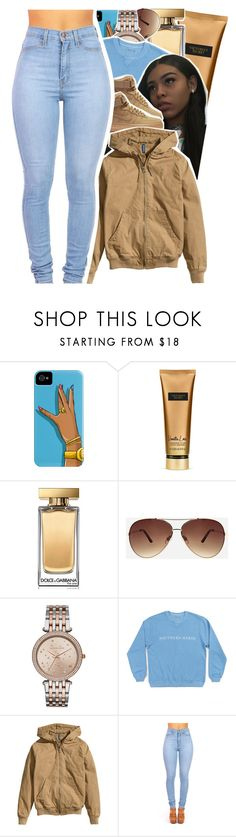"""Untitled #826"" by issaxmonea ❤ liked on Polyvore featuring Victoria's Secret, Dolce&Gabbana, Ashley Stewart, Michael Kors, NIKE and H&M"