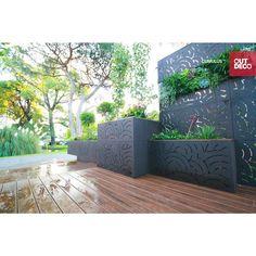 Cumulus Modular Hardwood Composite Decorative Fence Panel