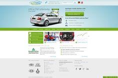 Modernizace webové prezentace největšího distributora přestaveb aut na LPG a CNG v České republice. Více na - www.lpg-agcplus.cz