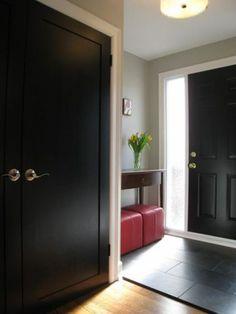 Black Interior Doors_Houzz