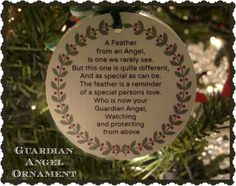 Crafty In Crosby: Guardian Angel Ornament with Printable Poem - just fill a glass ball with feathers and add the poem for a quick & easy memorial ornament. All Things Christmas, Christmas Bulbs, Christmas Crafts, Christmas Decorations, Christmas Ideas, Holiday Ideas, Christmas 2017, Diy Angels, Sign Of The Cross
