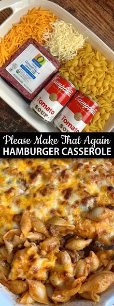 Personalized Graduation Gifts - Ideas To Pick Low Cost Graduation Offers Easy Hamburger Casserole Recipe 4 Ingredients - Instrupix Easy Hamburger Casserole, Easy Casserole Dishes, Hamburger Ideas, Pasta Casserole, Supper Ideas With Hamburger, Chicken Casserole, Easy Healthy Casserole, Easy Casserole Recipes For Dinner Beef, Best Hamburger Casserole Recipes