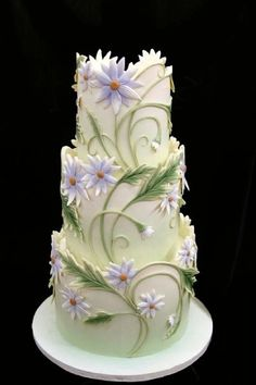 Made by Mike's Amazing Cakes. Cake Wrecks - Home Cool Wedding Cakes, Beautiful Wedding Cakes, Gorgeous Cakes, Wedding Cake Designs, Pretty Cakes, Cute Cakes, Amazing Cakes, Magical Wedding, Wedding Ideas