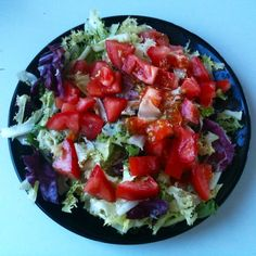 Appreciate the simplicity of fresh greens and tomatoes with this Mediterranean Salad recipe. Easy and healthy so you can live la vida like the Spaniards do.