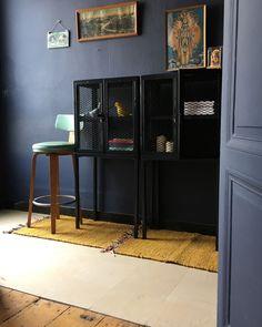 meuble metal grillage bebop de chez guibox petit cabinet de curiosites qui aimera proteger tous