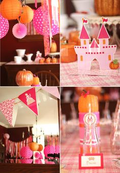 Cool Customers: Pumpkin Princess Birthday Tea Party by Bird's Party
