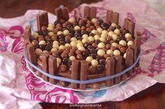 Tarta de chocolate y obleas | Comer con poco