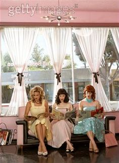 Debb, Katie, and Loretta at the Beauty Salon waiting to get hair and nails done…
