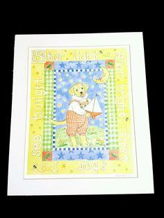 Kelly B Rightsell Star Light Dog Print 17 X 14 ins No Frame  #kellybrightsell