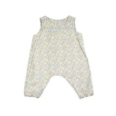 Liberty Print Dotty Romper | Coco&Wolf at @Kide