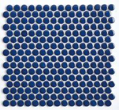 Mineral Tiles - Penny Round Tile Cobalt Blue, $6.95 (https://www.mineraltiles.com/penny-round-tile-cobalt-blue/)