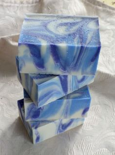 Sea Salt Lavender Soap from The Kingston Soap Company.