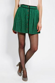 Cooperative | Library Button-Front Skirt