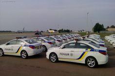 Дорожная полиция выходит на свое первое патрулирование