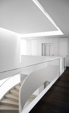 Stairs - Park House in Madrid Spain by A-cero