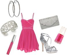 """Formally Pink"" by classyinpink on Polyvore"