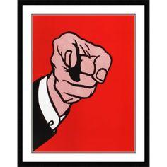Hey you - Roy Lichtenstein
