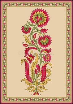 Textile Pattern Design, Textile Patterns, Pattern Art, Print Patterns, Textiles, Mughal Paintings, Indian Paintings, Cute Backgrounds For Phones, Tie Dye Crafts