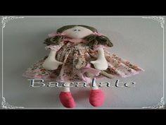Como fazer BONECA de pano MANU Bacalate # 1 - Artesanato - YouTube