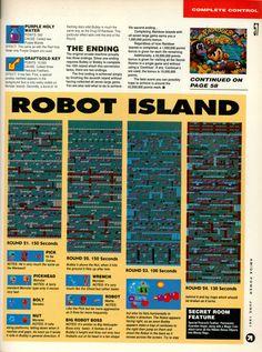 Amiga Power Rainbow Islands guide Page 10