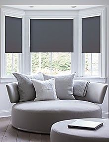 Deluxe Room Darkening Fabric Roller Shades