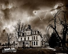 According to their facebook page the Mansion will be open again this fall, you can find out more HERE On M53 near Brown City is this old Second Empire mansion built in 1876. It was the home of and built by John G. Bruce who owned the Bruce and Webster General Merchants with his brother-in-lawRead More...