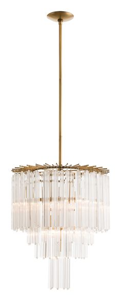 The well appointed house arteriors lechtford chandelier