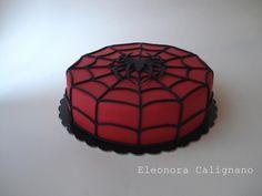 spiderman  - Cake by Eleonora Calignano