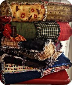 Make rag quilts