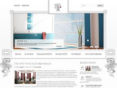This #Free #WordPress Theme is a great solution to blog about interior, ideal for your store. Download it for FREE!
