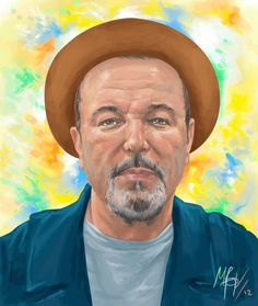 """Born on July 16, 1948, in Panama City, Panama, Rubén Blades released his debut album From Panama to New York in 1968. Often singing socially aware music, he grew a career as a solo artist and with the band Guarare. With Willie Colón he had the massive salsa hit """"Pedro Navaja"""" and has also acted in film. Having earned a Harvard MA in international law, he ran for the Panamanian presidency in 1994. Latin Music, Film Books, Beautiful Places In The World, Music Film, Panama City Panama, Salsa, Central America, Artist, Debut Album"""