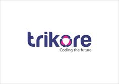 TRIKORE LOGO Coding The Future Designed by Brand Care Communications