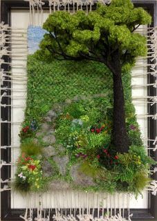 Dimensional Weaving - Martina Celerin 3D fiber art That's just cool.  Very inspiring